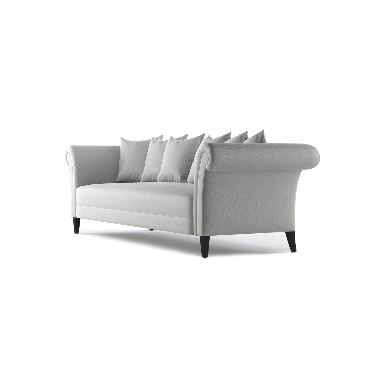 Baker Three and a Half Seater Sofa by Bonham & Bonham 02