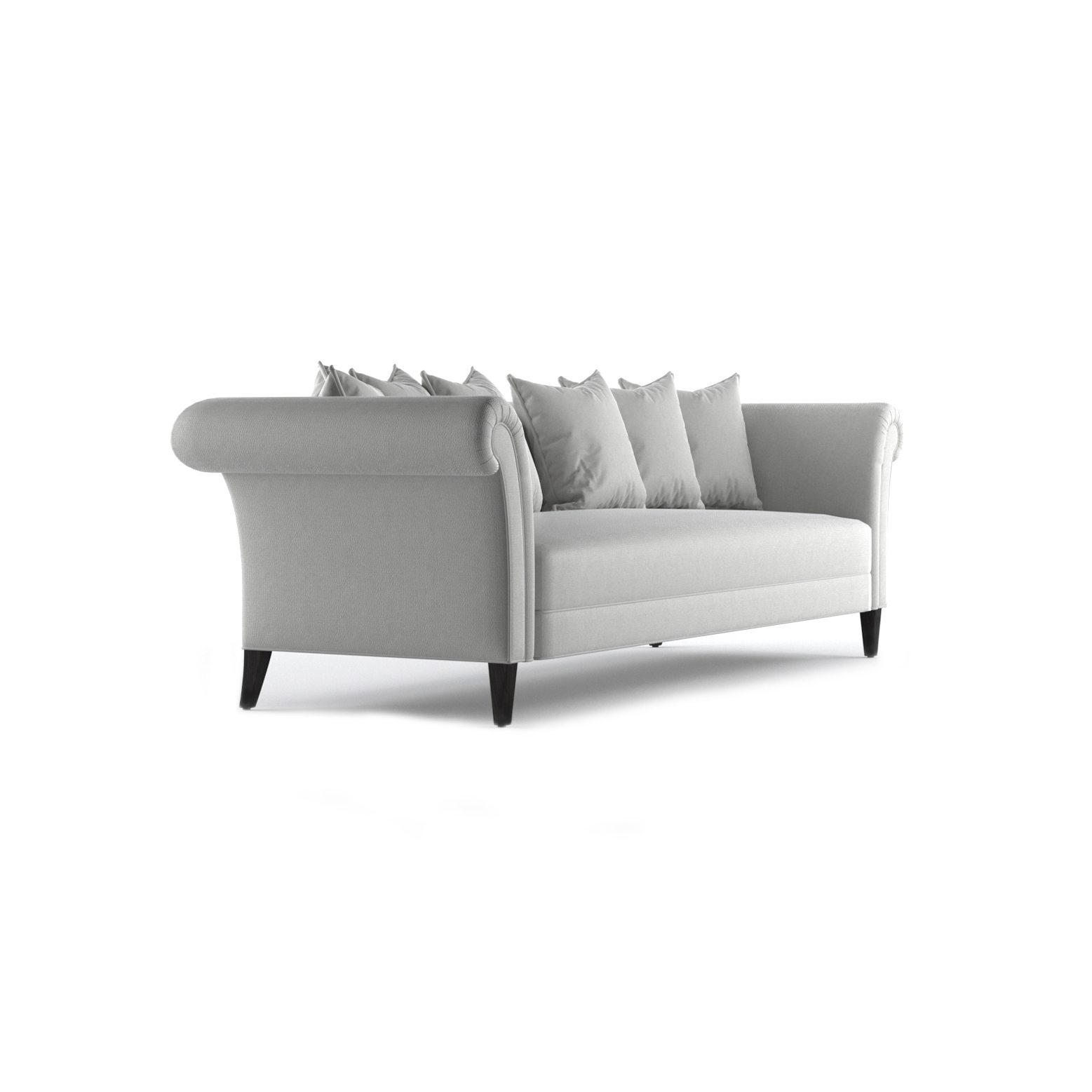 Baker Three and a Half Seater Sofa by Bonham & Bonham 11