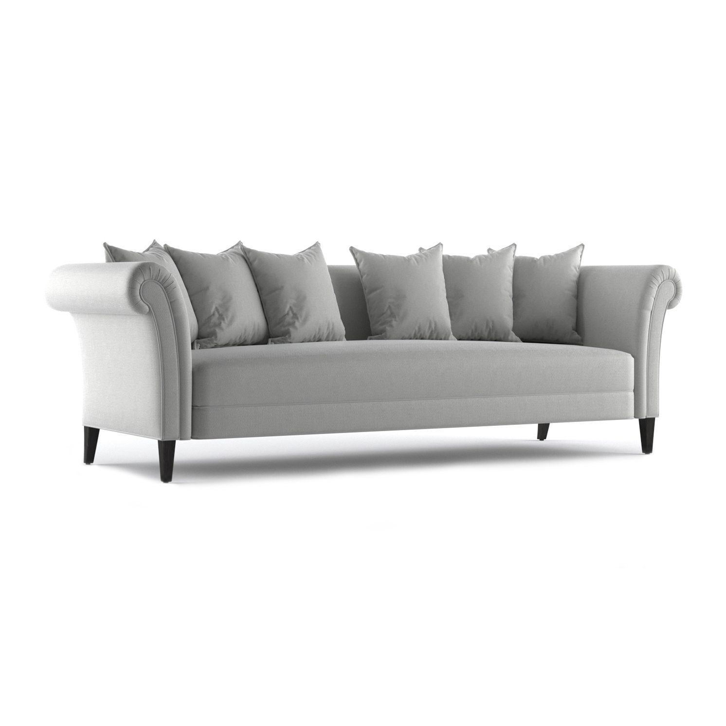 Baker Three and a Half Seater Sofa by Bonham & Bonham 12
