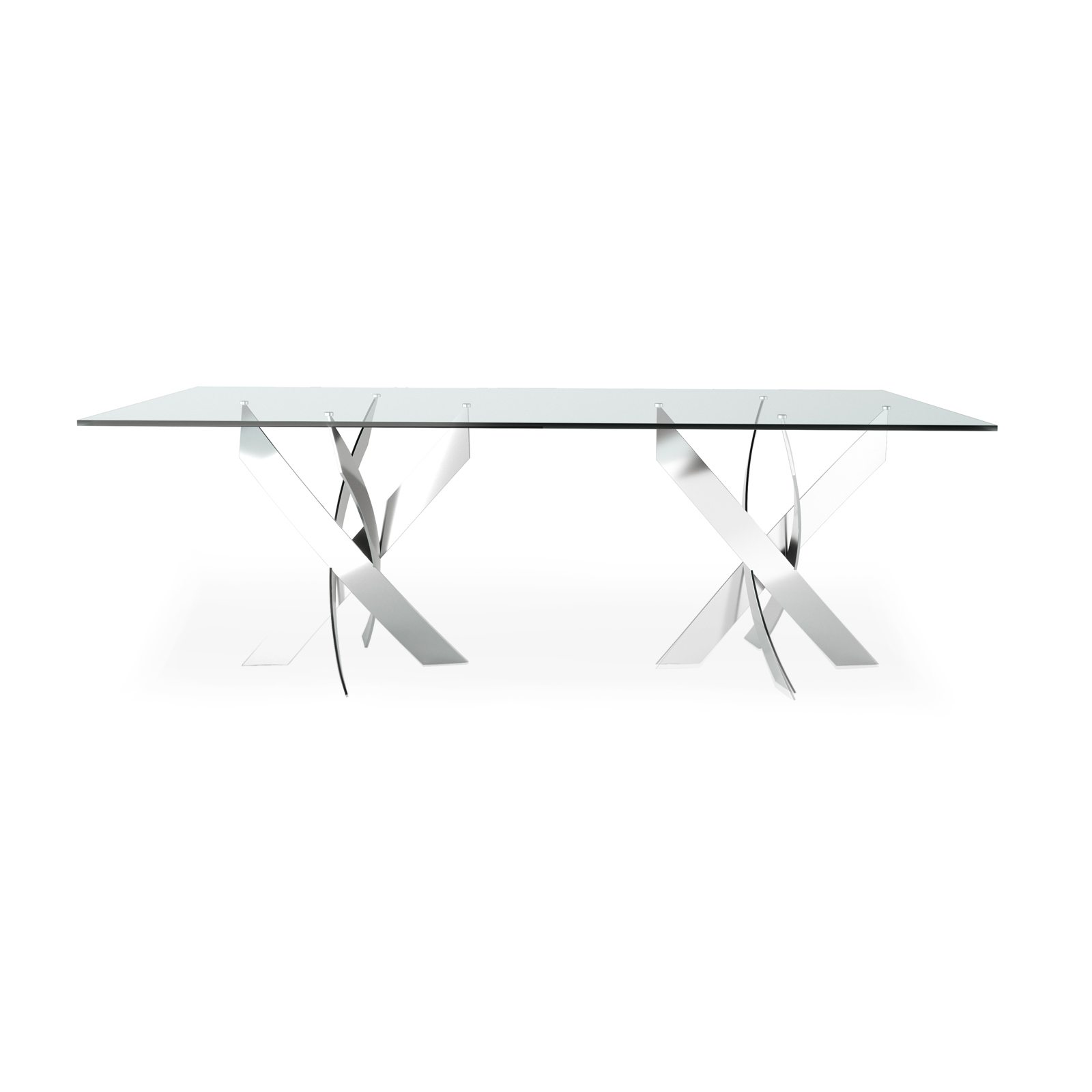 Helix Rectangular Dining Table by Bonham & Bonham