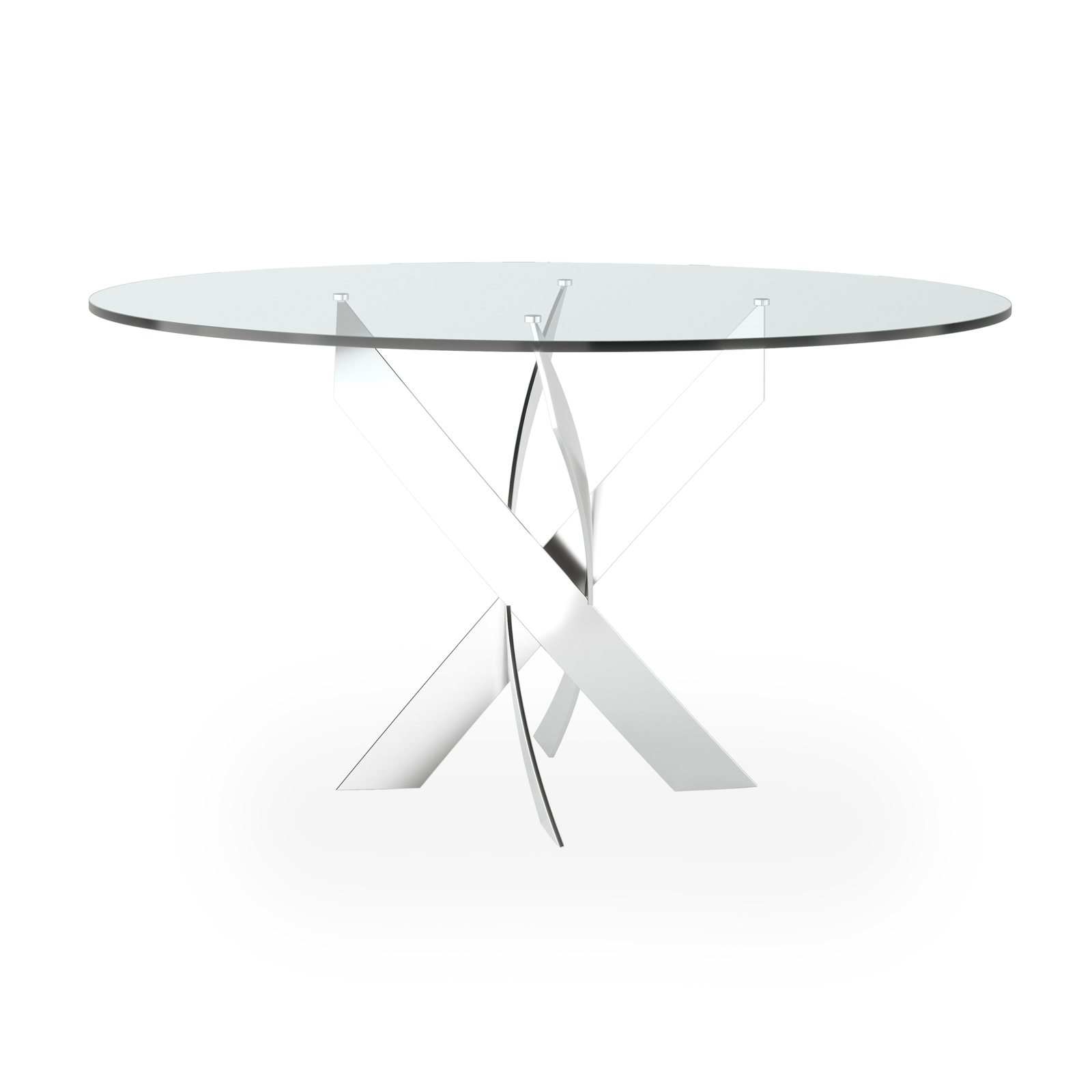Helix Round Dining Table by Bonham & Bonham