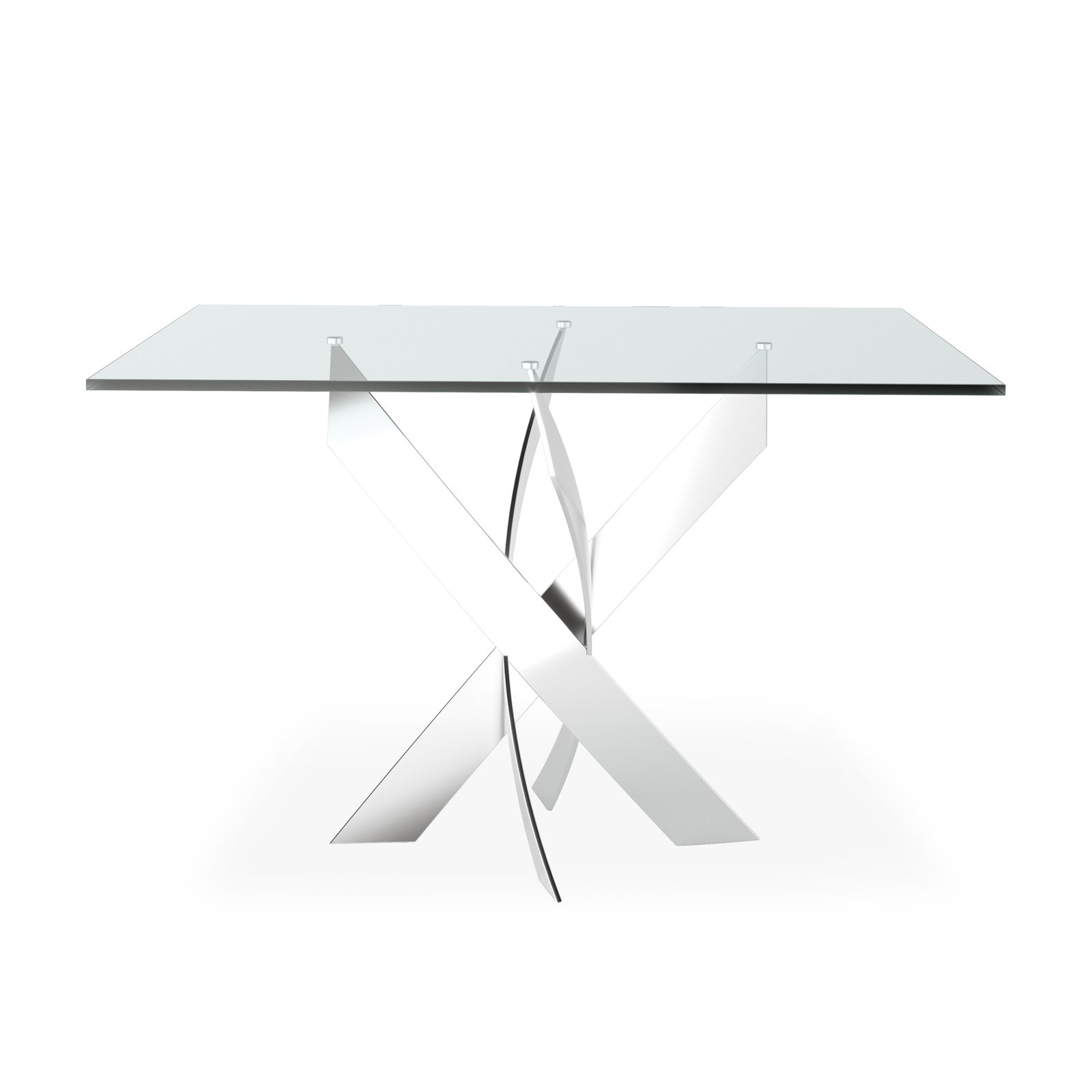 Helix Square Dining Table by Bonham & Bonham