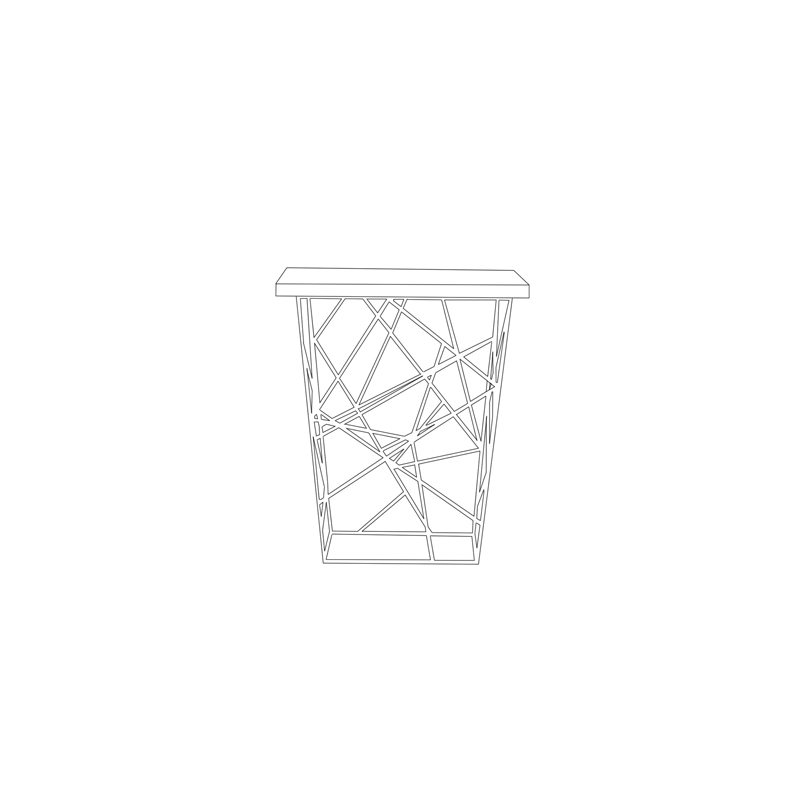 Front Elevation Oblique Drawing : Luxury coffee side tables oblique table bonham