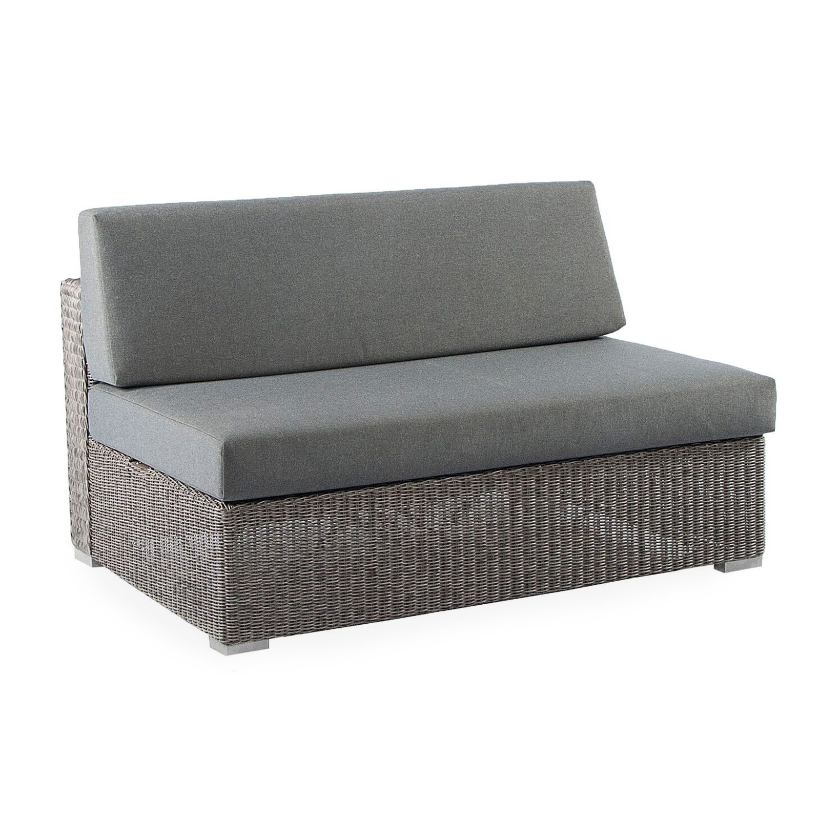 Positano Outdoor Two Seat Middle Sofa by Bonham & Bonham