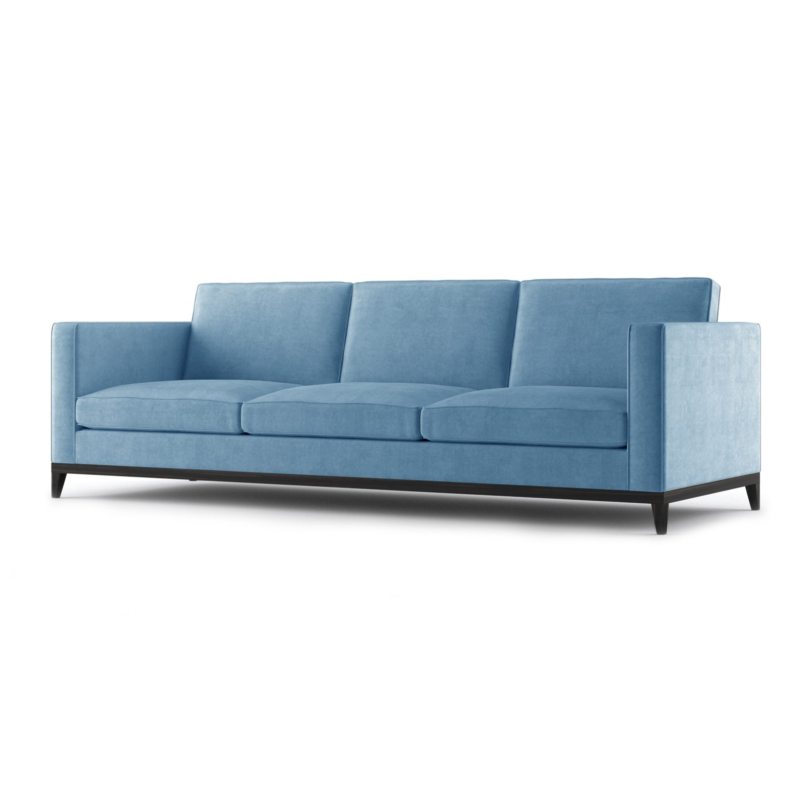 Armstrong Three and a Half Seater Sofa by Bonham & Bonham Blue 02