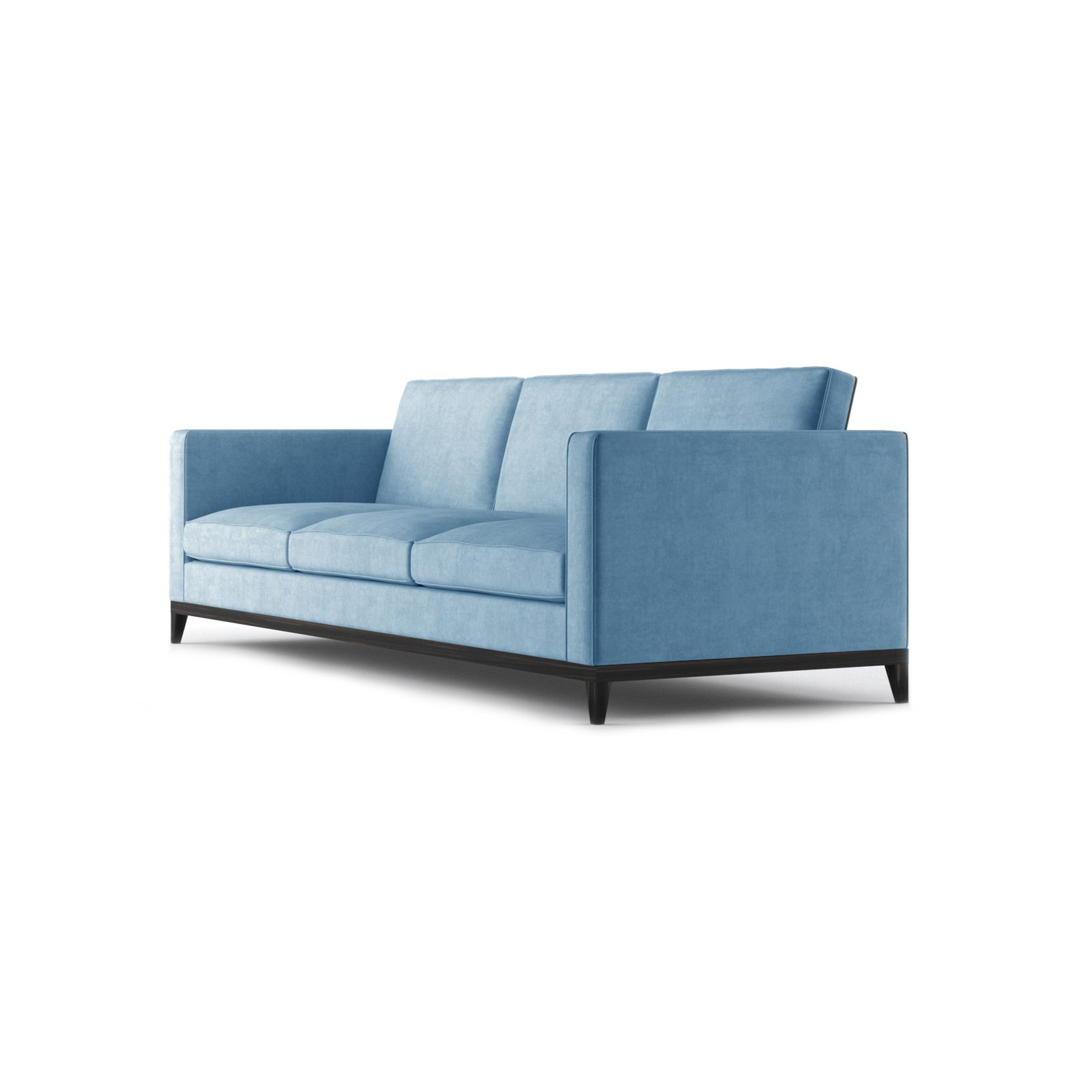 Armstrong Three and a Half Seater Sofa by Bonham & Bonham Blue 03