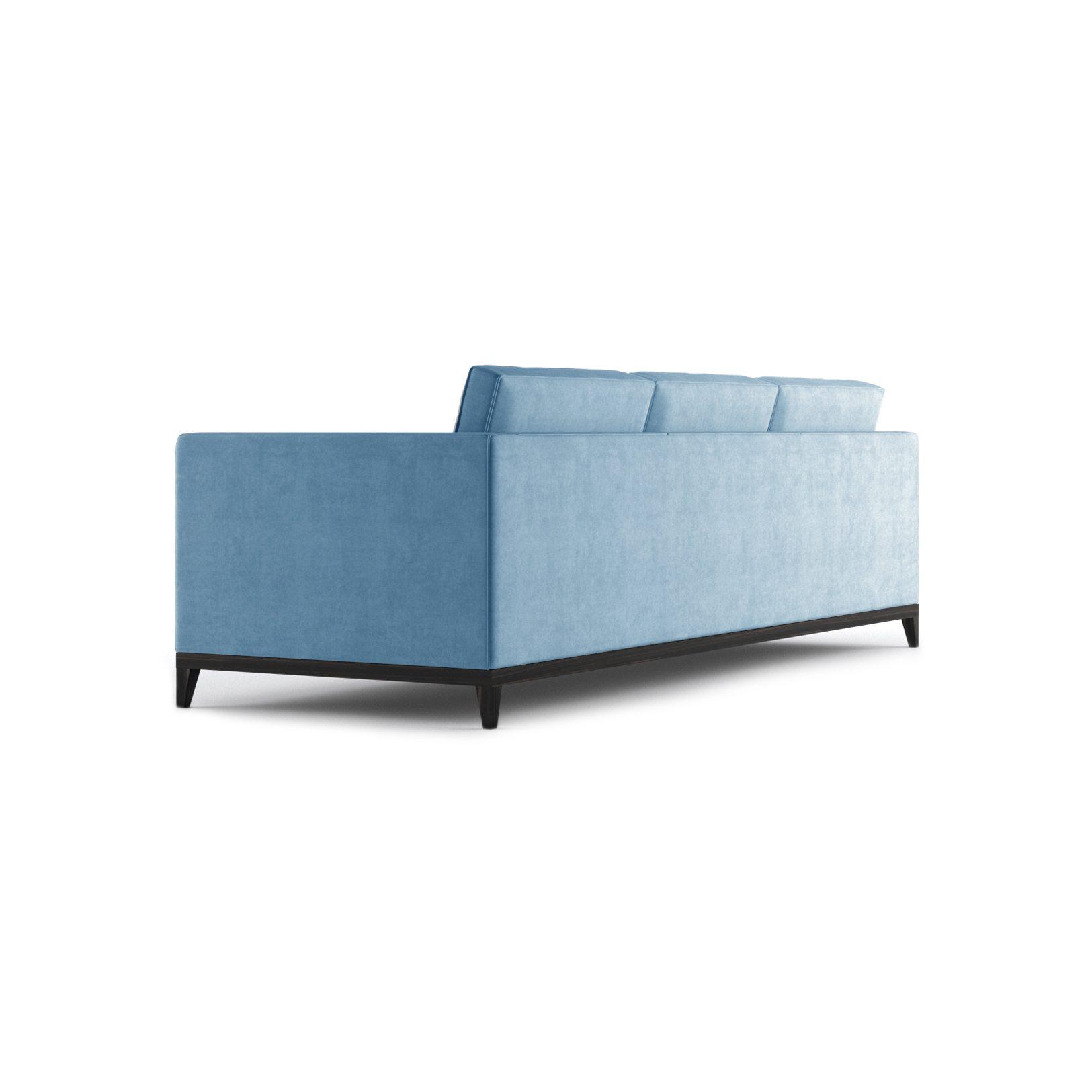 Armstrong Three and a Half Seater Sofa by Bonham & Bonham Blue 05