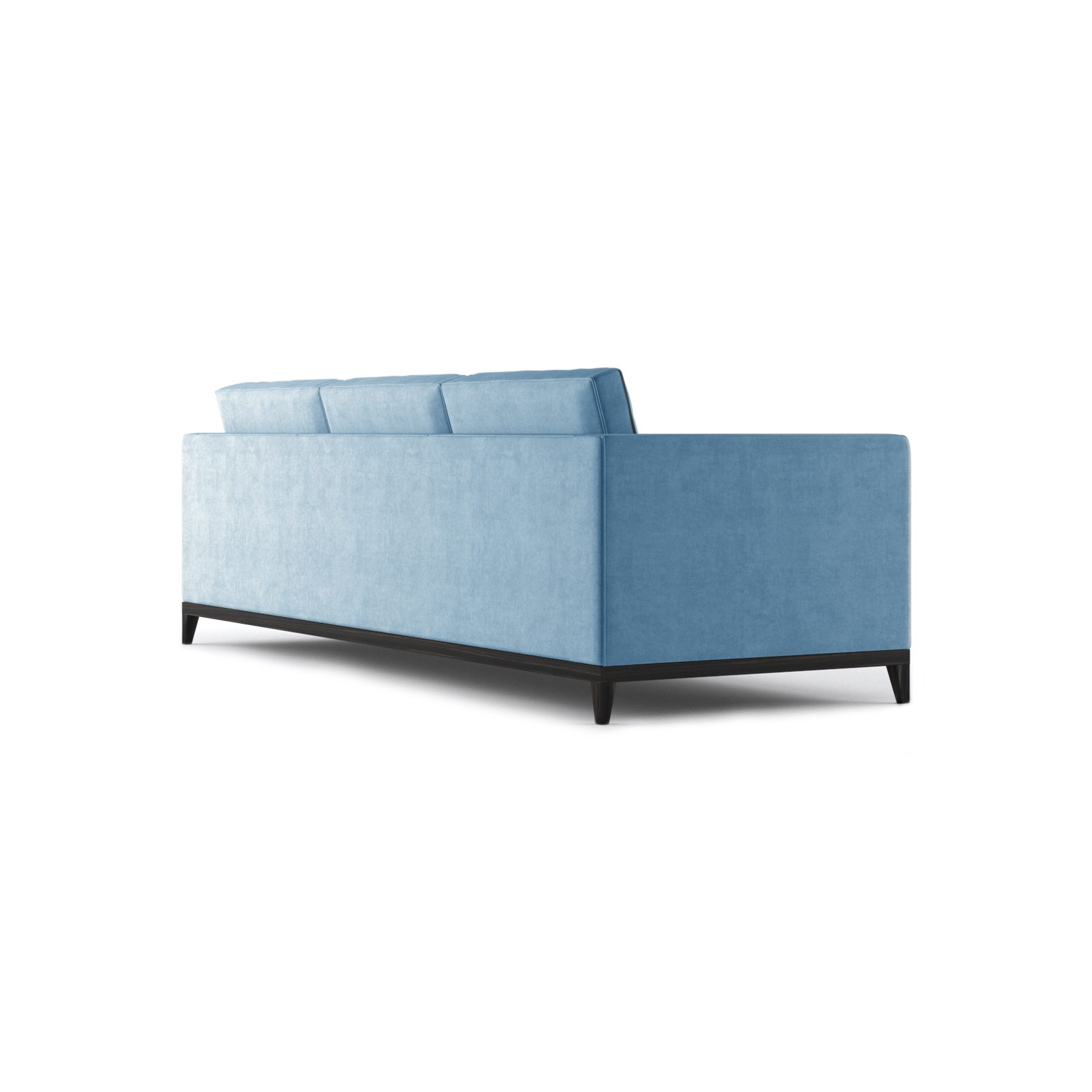 Armstrong Three and a Half Seater Sofa by Bonham & Bonham Blue 09