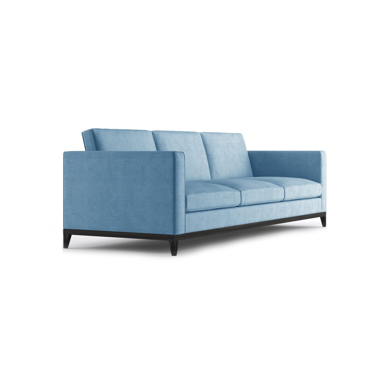 Armstrong Three and a Half Seater Sofa by Bonham & Bonham Blue 11