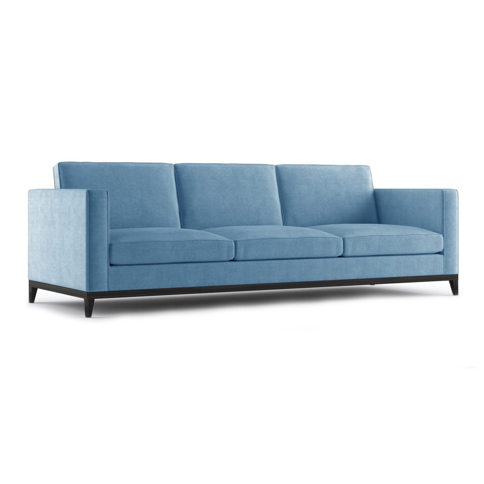 Armstrong Three and a Half Seater Sofa by Bonham & Bonham Blue 12