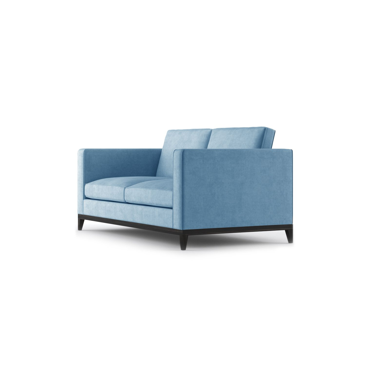 Armstrong Two Seater Sofa by Bonham & Bonham Blue 03