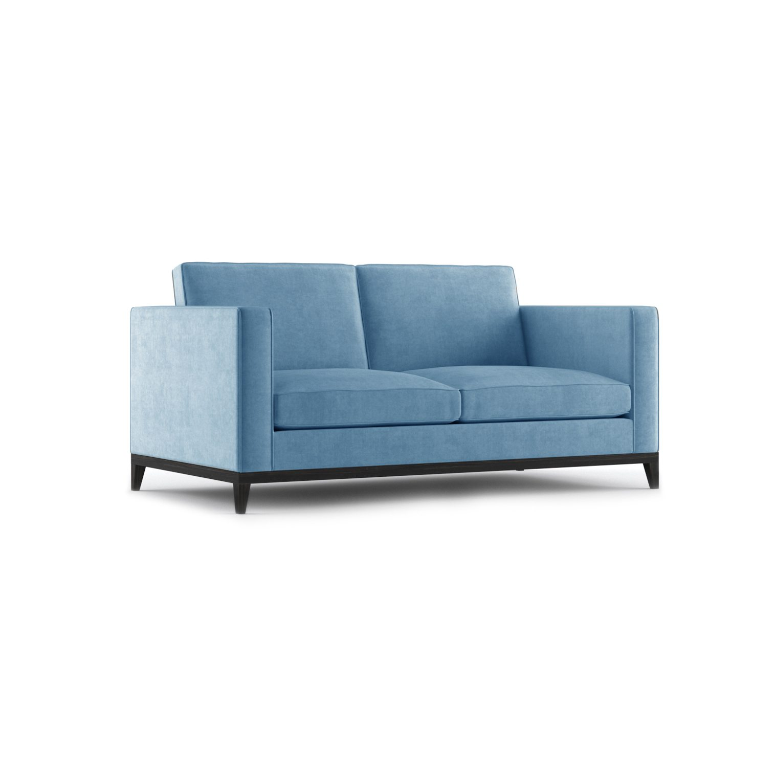 Armstrong Two Seater Sofa by Bonham & Bonham Blue 12
