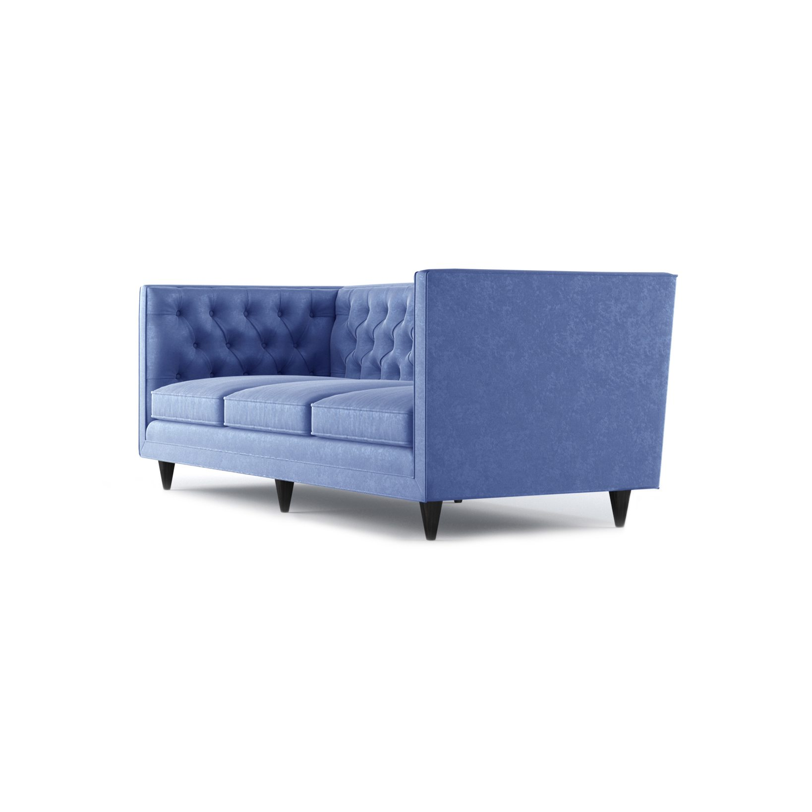 Bennett Three and a Half Seater Sofa by Bonham & Bonham Royal Blue 02