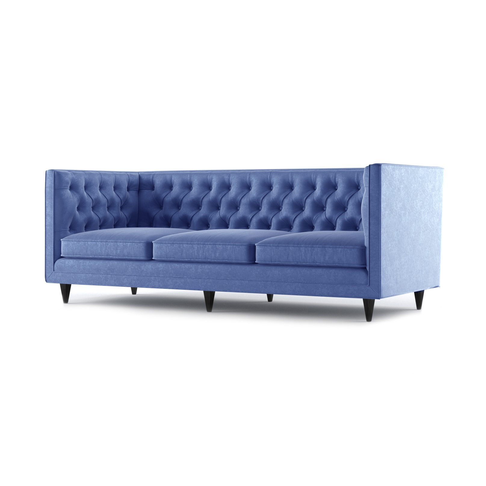 Bennett Three and a Half Seater Sofa by Bonham & Bonham Royal Blue 06
