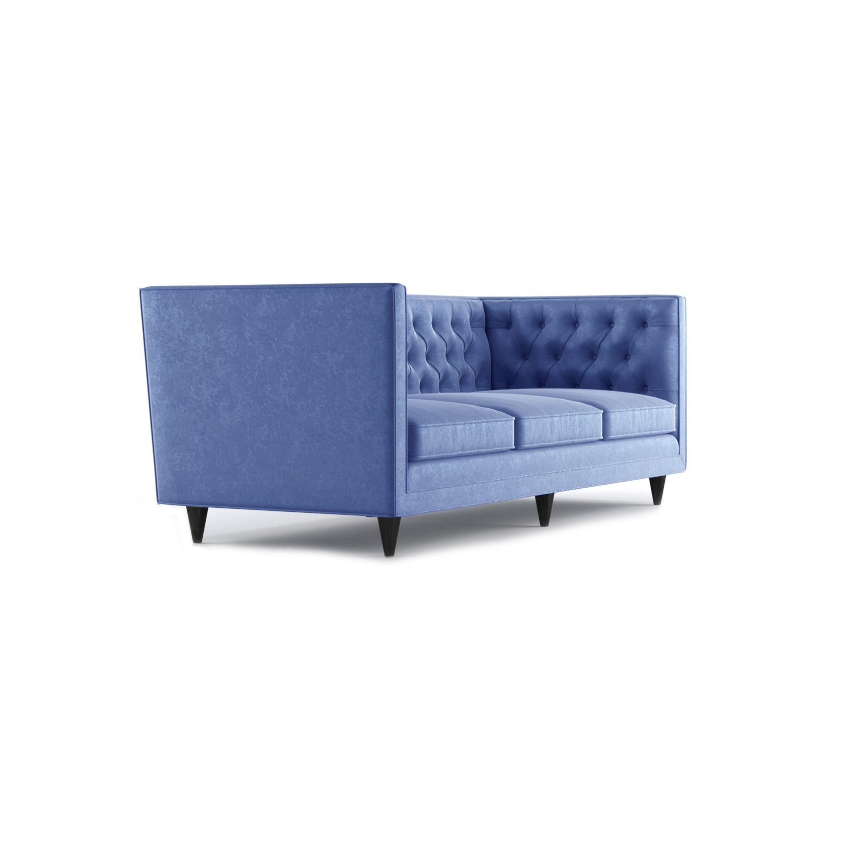 Bennett Three and a Half Seater Sofa by Bonham & Bonham Royal Blue 11