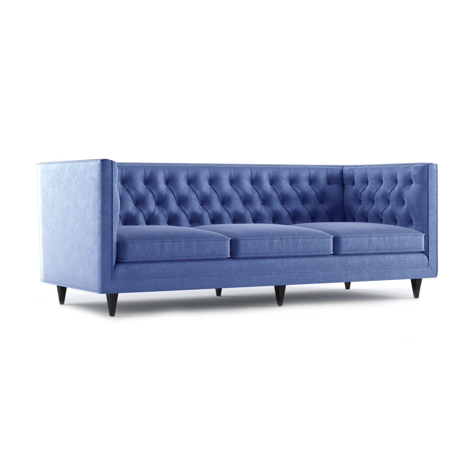 Bennett Three and a Half Seater Sofa by Bonham & Bonham Royal Blue 12