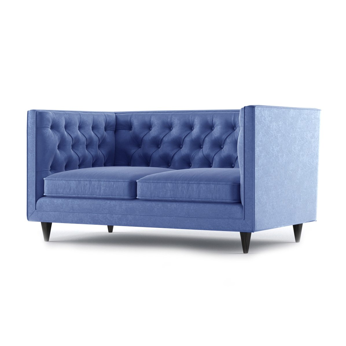 Bennett Two Seater Sofa by Bonham & Bonham Royal Blue 02