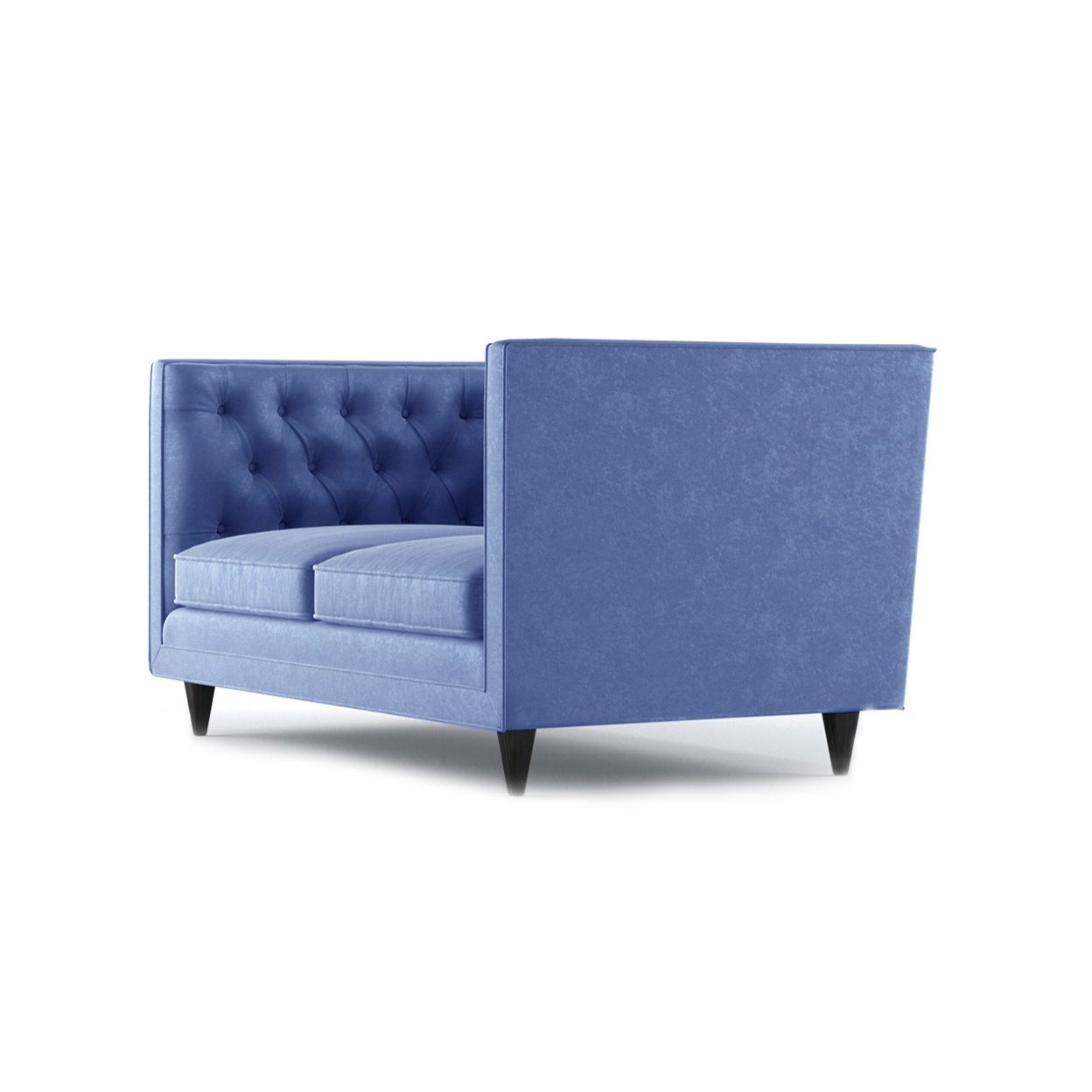 Bennett Two Seater Sofa by Bonham & Bonham Royal Blue 03