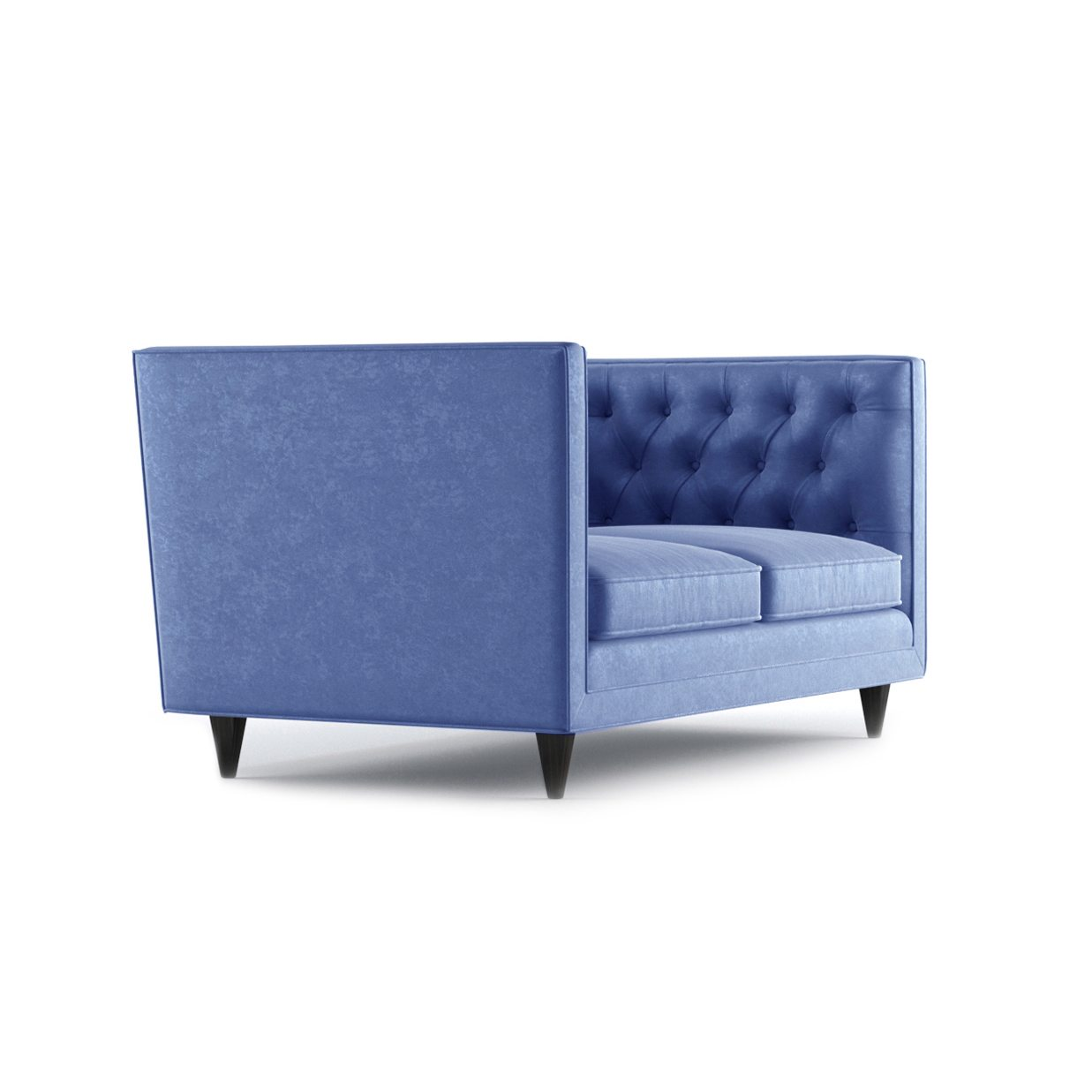 Bennett Two Seater Sofa by Bonham & Bonham Royal Blue 11