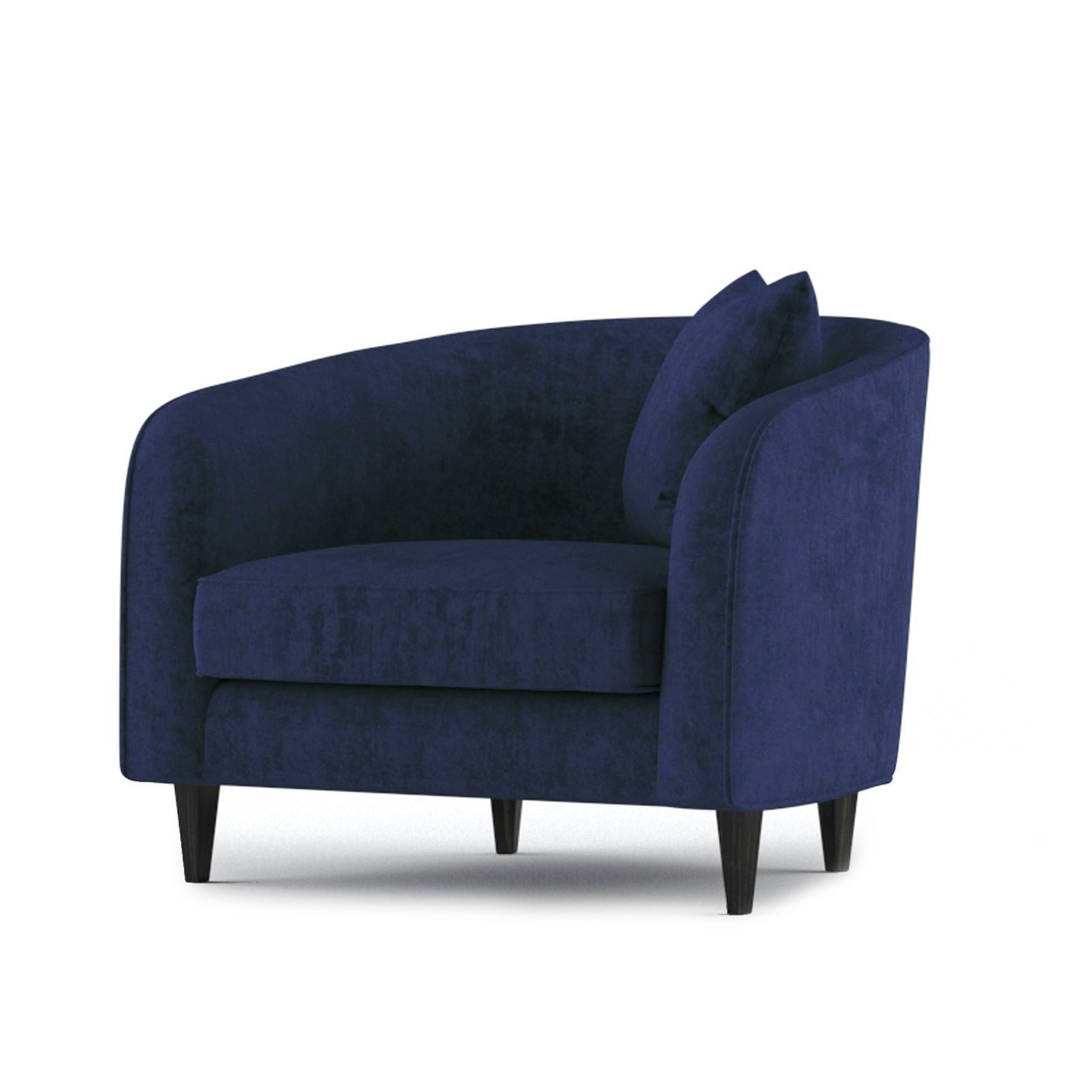 Cole Armchair by Bonham & Bonham Rich Blue 02