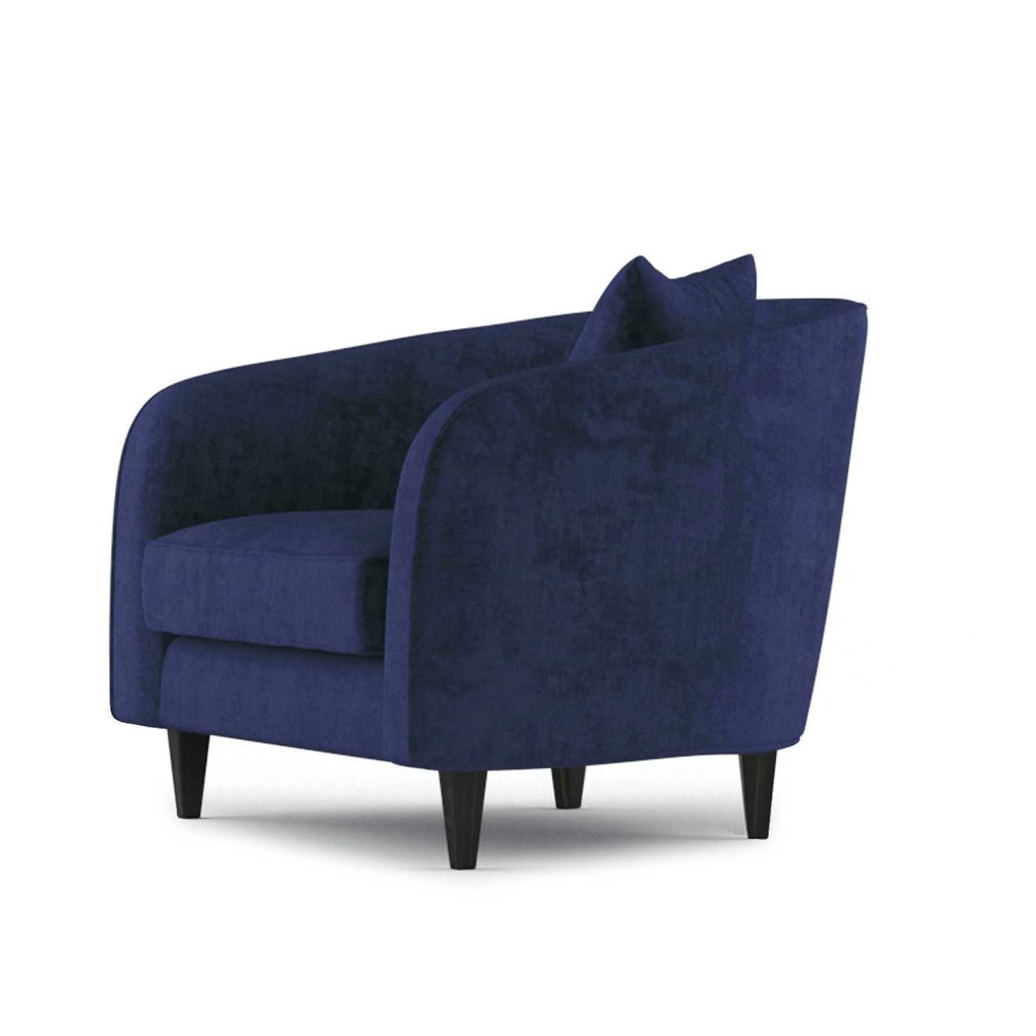Cole Armchair by Bonham & Bonham Rich Blue 03