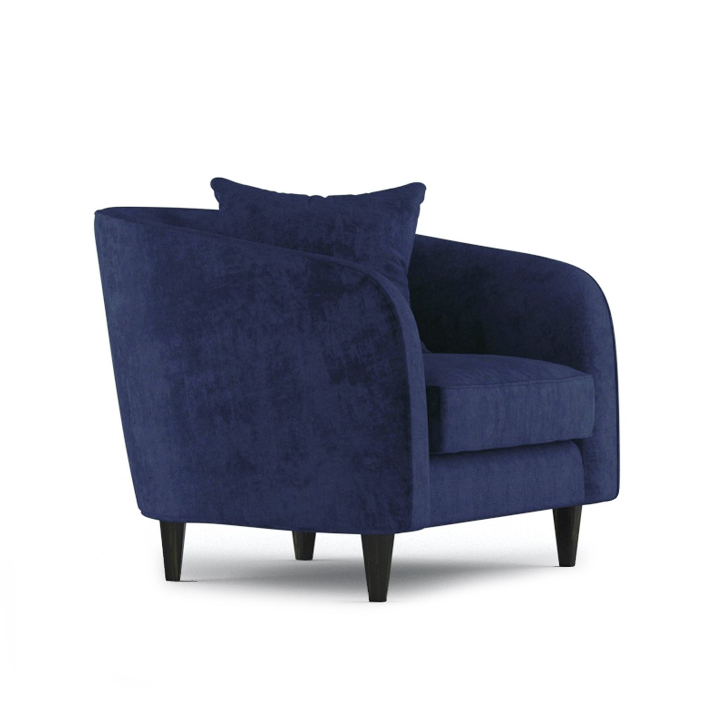 Cole Armchair by Bonham & Bonham Rich Blue 11