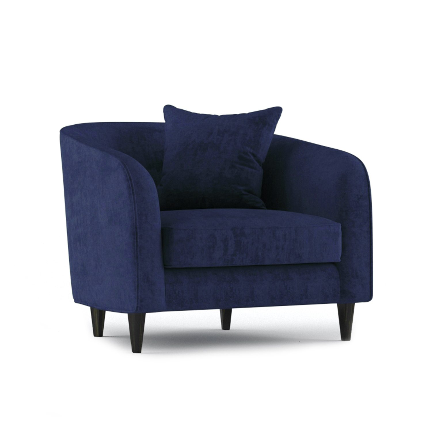 Cole Armchair by Bonham & Bonham Rich Blue 12