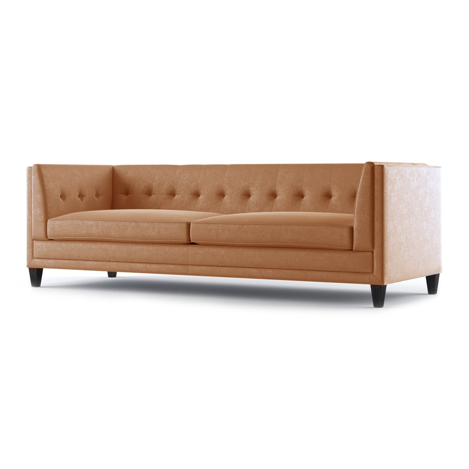 Coltrane Three and a Half Seater Sofa by Bonham & Bonham Burnt Orange 02