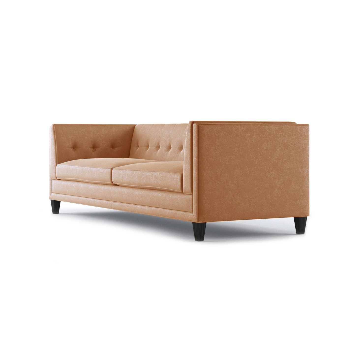Coltrane Three and a Half Seater Sofa by Bonham & Bonham Burnt Orange 03