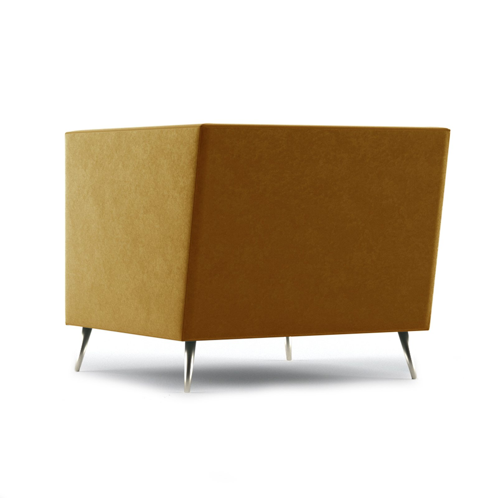 Connick Armchair by Bonham & Bonham Dark Tangerine 06