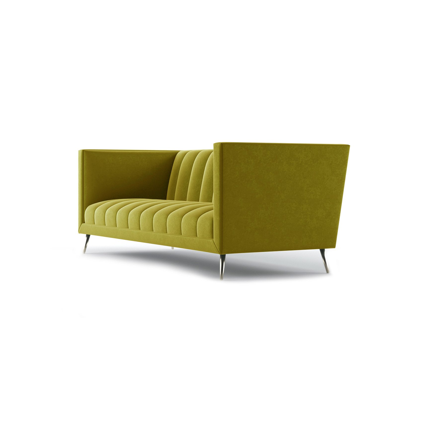 Connick Three and a Half Seater Sofa by Bonham & Bonham Gold 03