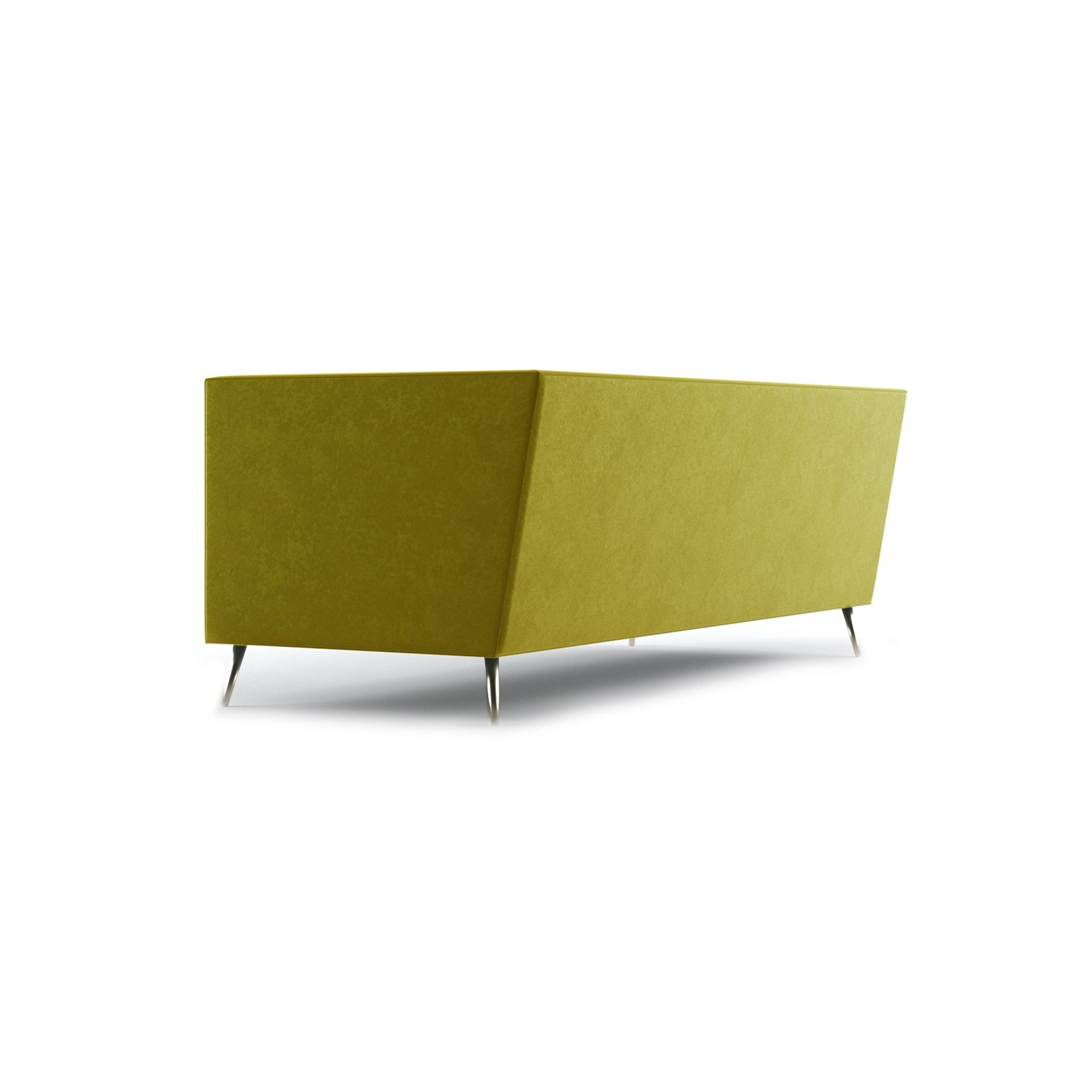 Connick Three and a Half Seater Sofa by Bonham & Bonham Gold 05