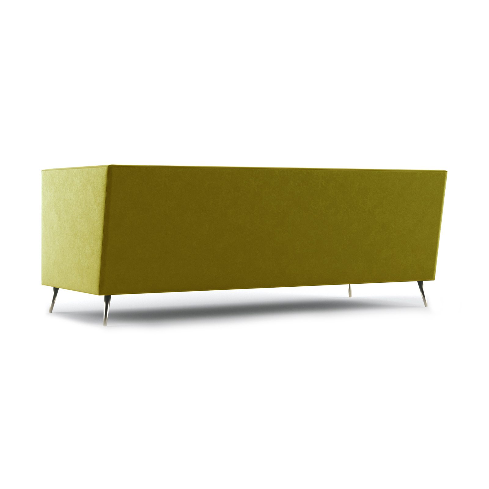 Connick Three and a Half Seater Sofa by Bonham & Bonham Gold 06