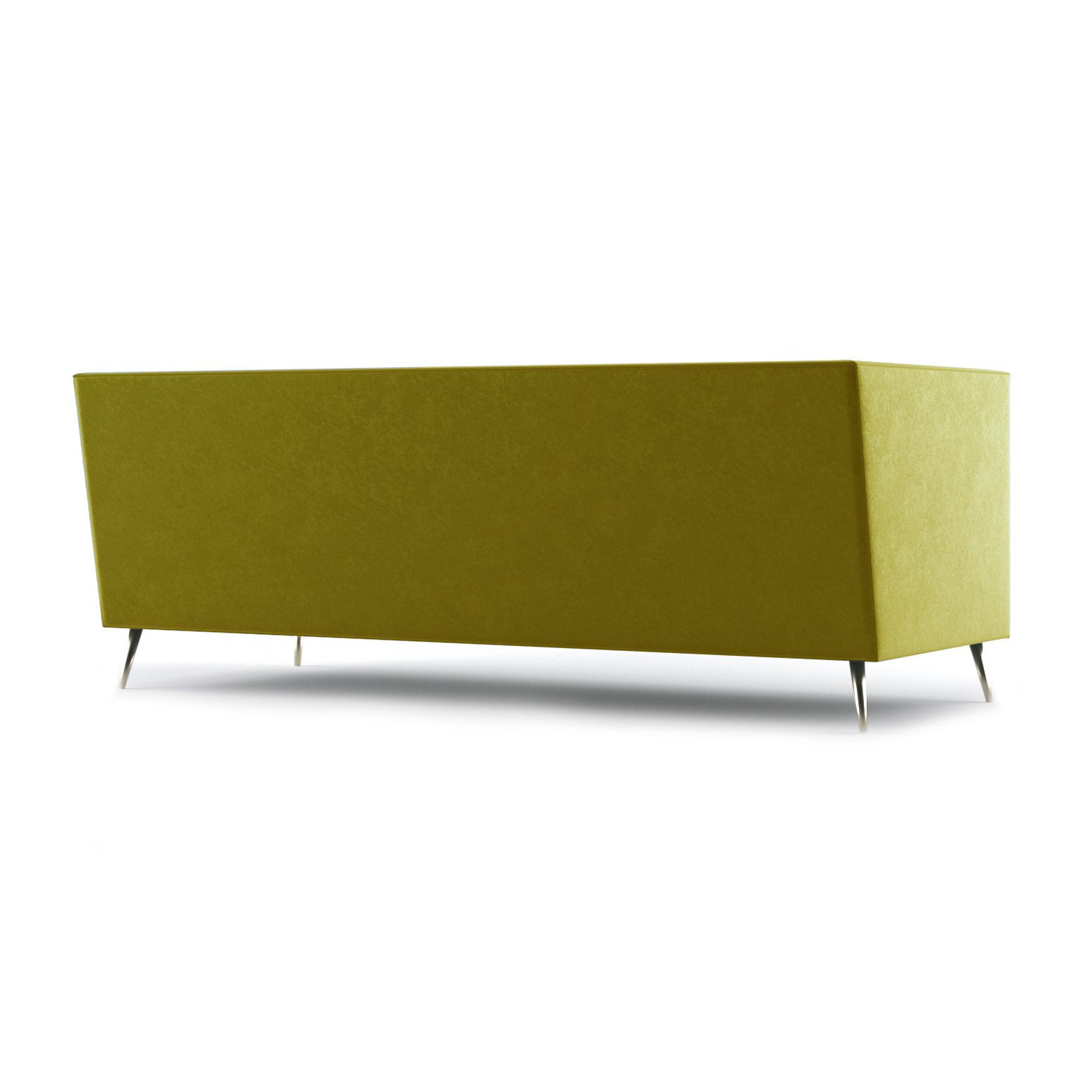 Connick Three and a Half Seater Sofa by Bonham & Bonham Gold 08