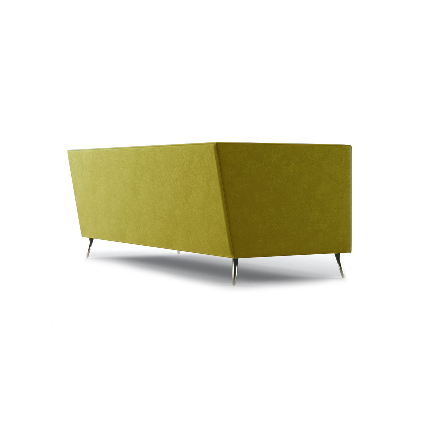 Connick Three and a Half Seater Sofa by Bonham & Bonham Gold 09