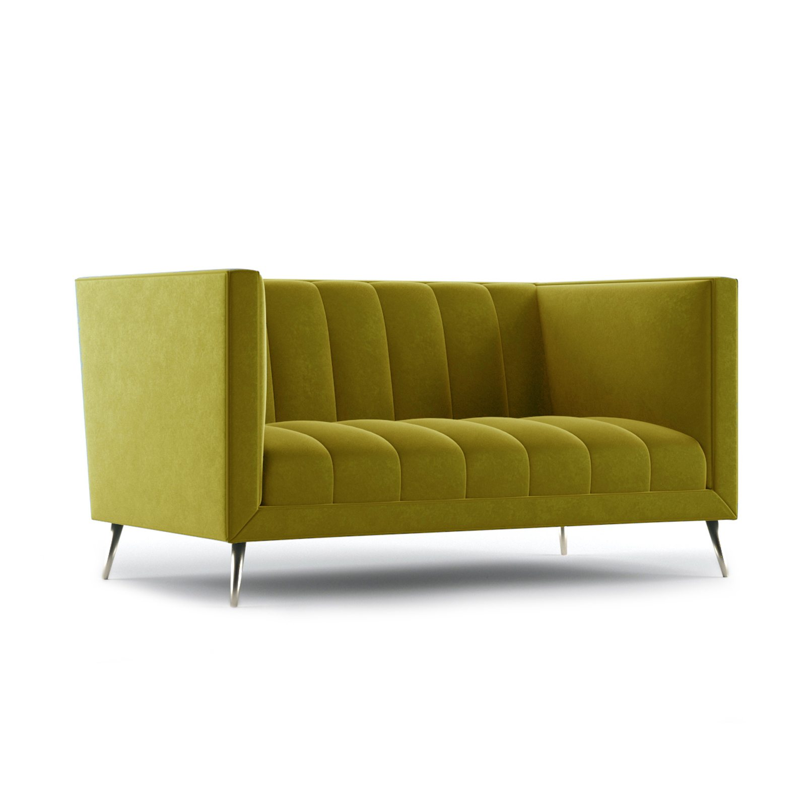 Connick Two Seater Sofa by Bonham & Bonham Gold 12