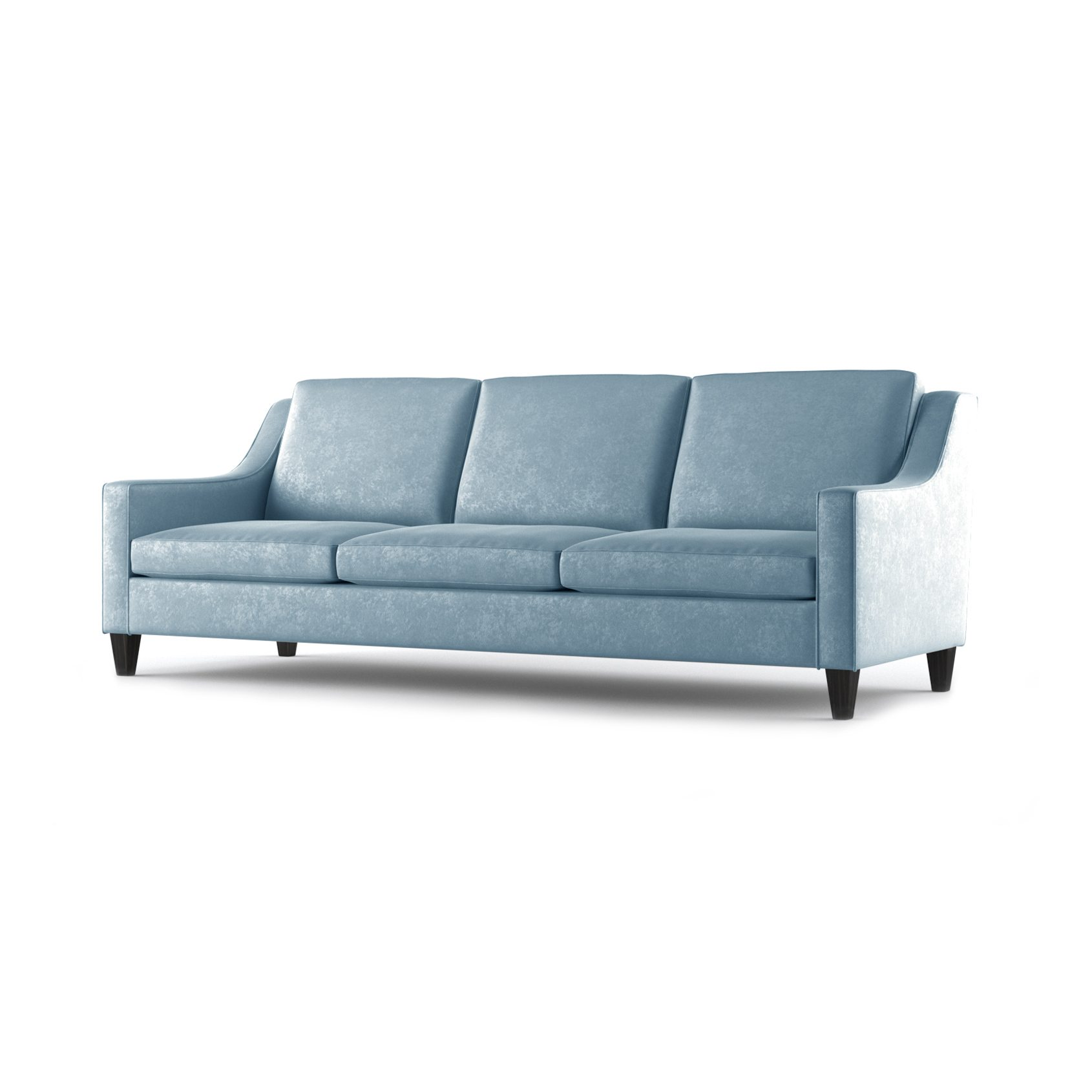 Fitzgerald Three and a Half Seater Sofa by Bonham & Bonham Sky 02