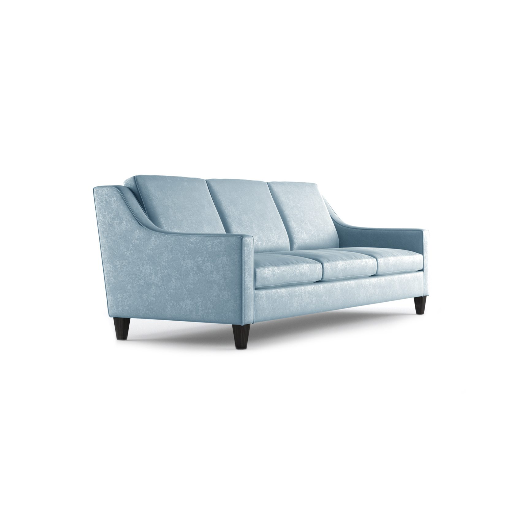Fitzgerald Three and a Half Seater Sofa by Bonham & Bonham Sky 11