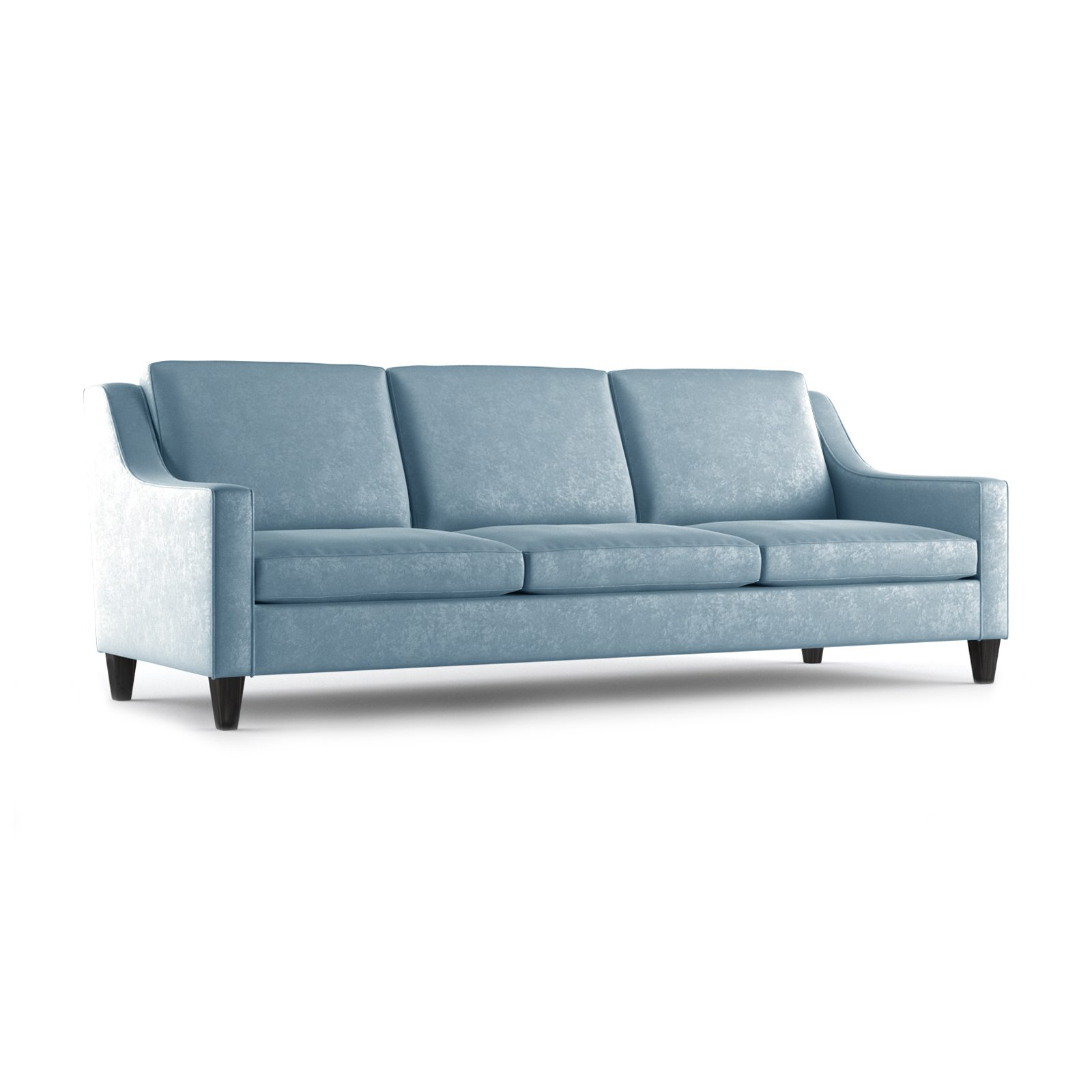 Fitzgerald Three and a Half Seater Sofa by Bonham & Bonham Sky 12