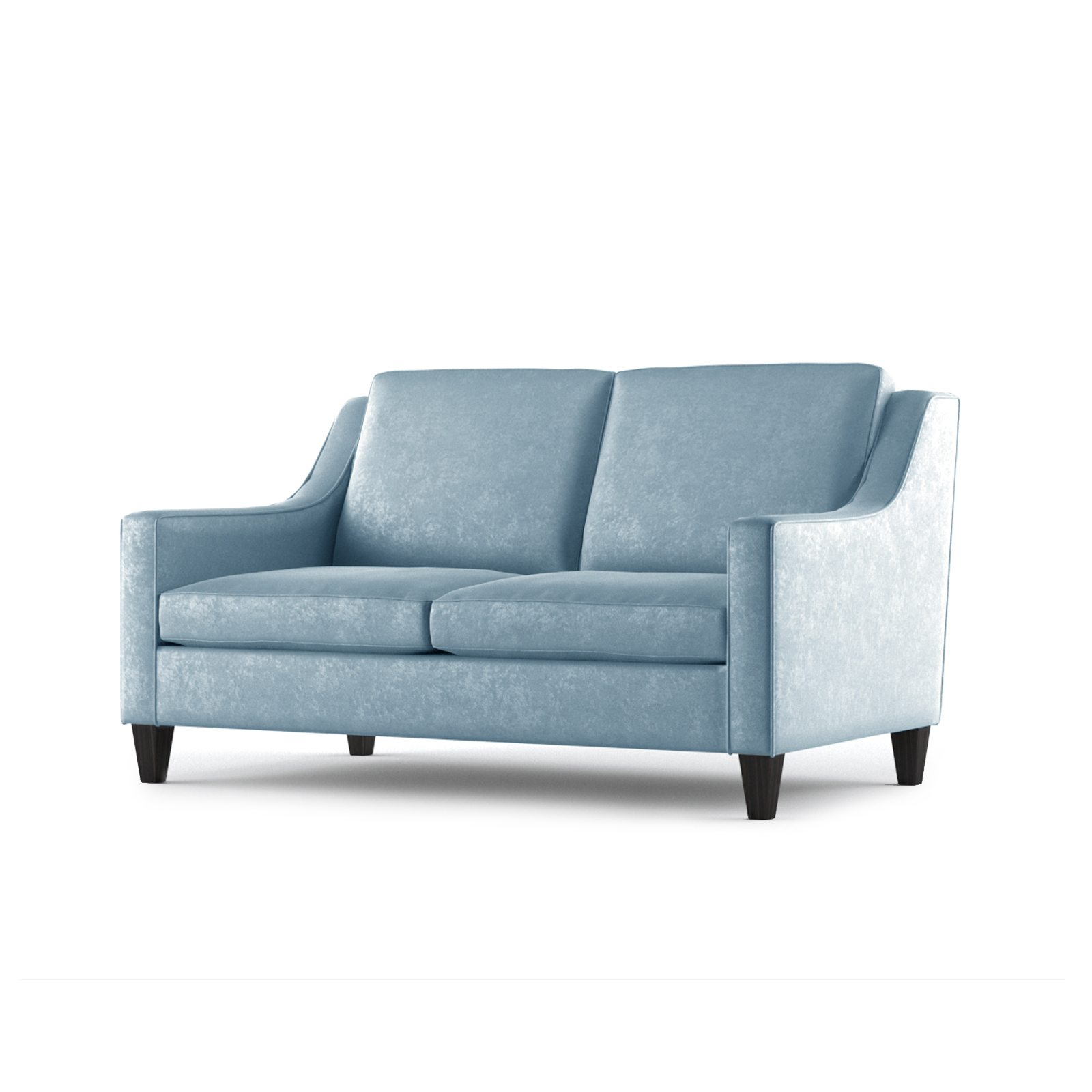 Fitzgerald Two Seater Sofa by Bonham & Bonham Sky 02