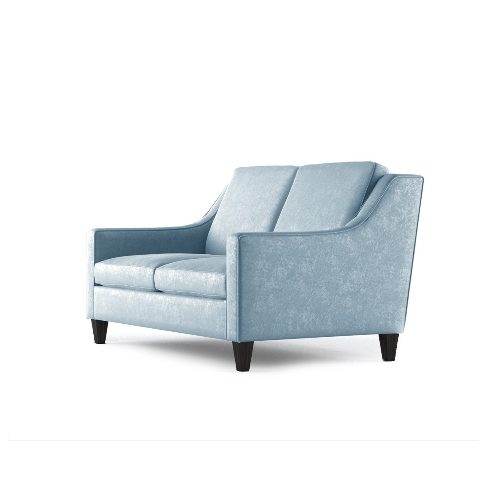 Fitzgerald Two Seater Sofa by Bonham & Bonham Sky 03