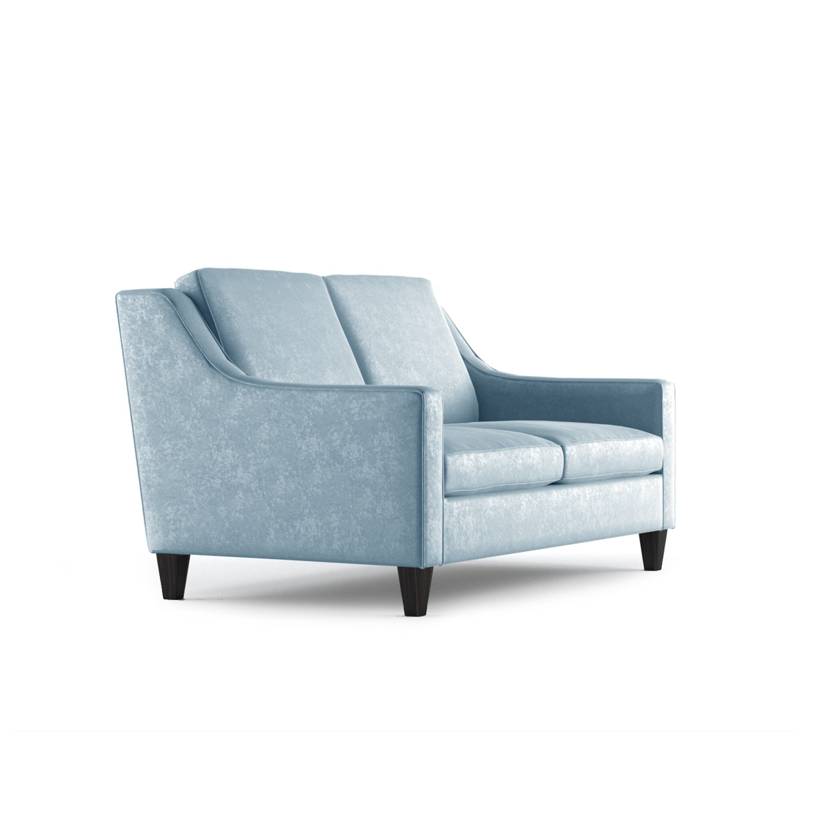 Fitzgerald Two Seater Sofa by Bonham & Bonham Sky 11