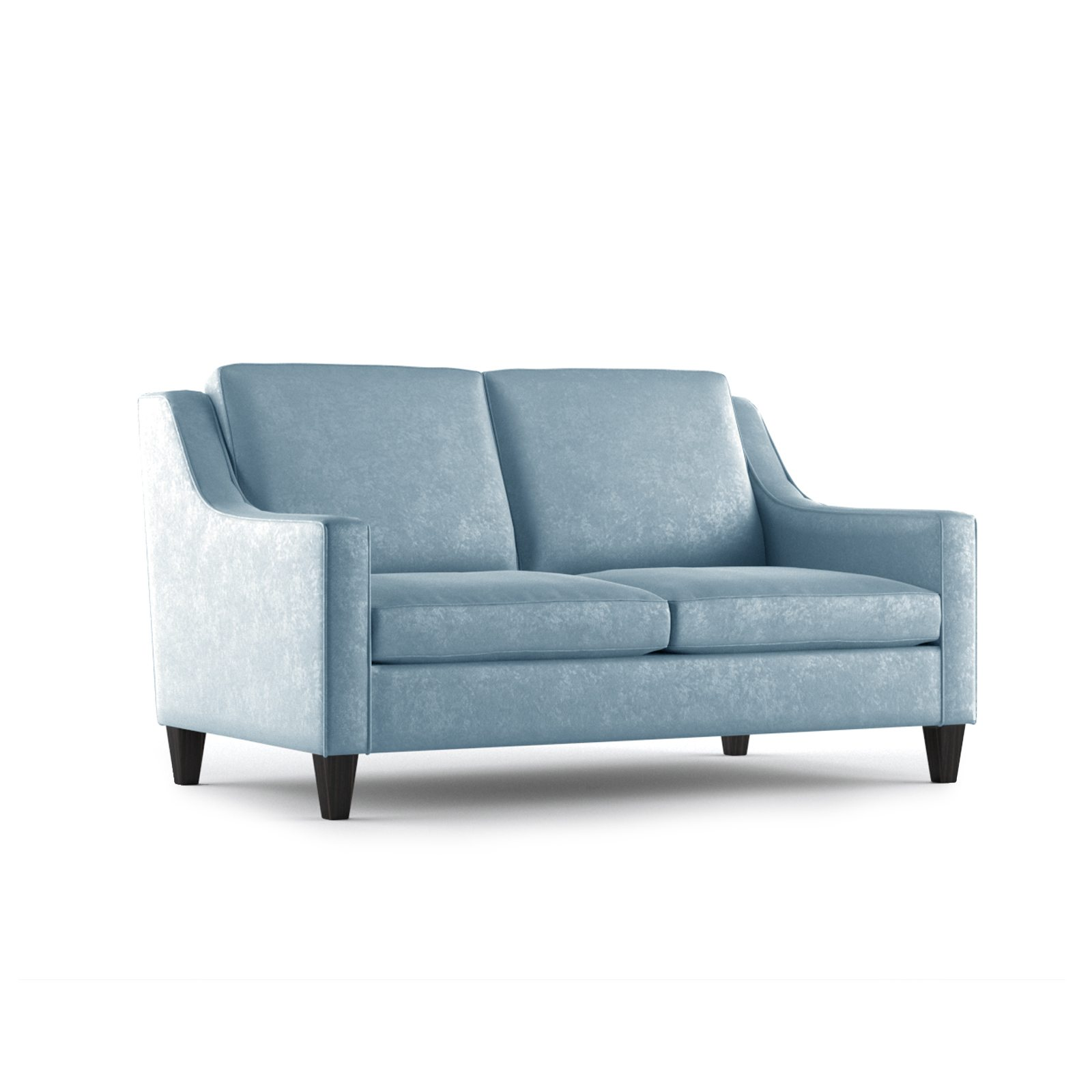 Fitzgerald Two Seater Sofa by Bonham & Bonham Sky 12