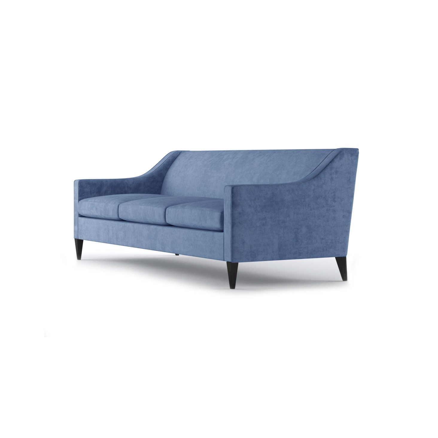 Hartman Three and a Half Seater Sofa by Bonham & Bonham Pale Blue 03