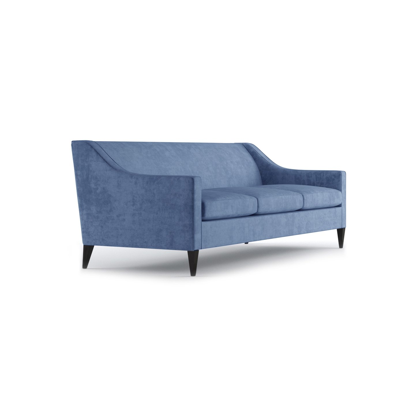 Hartman Three and a Half Seater Sofa by Bonham & Bonham Pale Blue 11