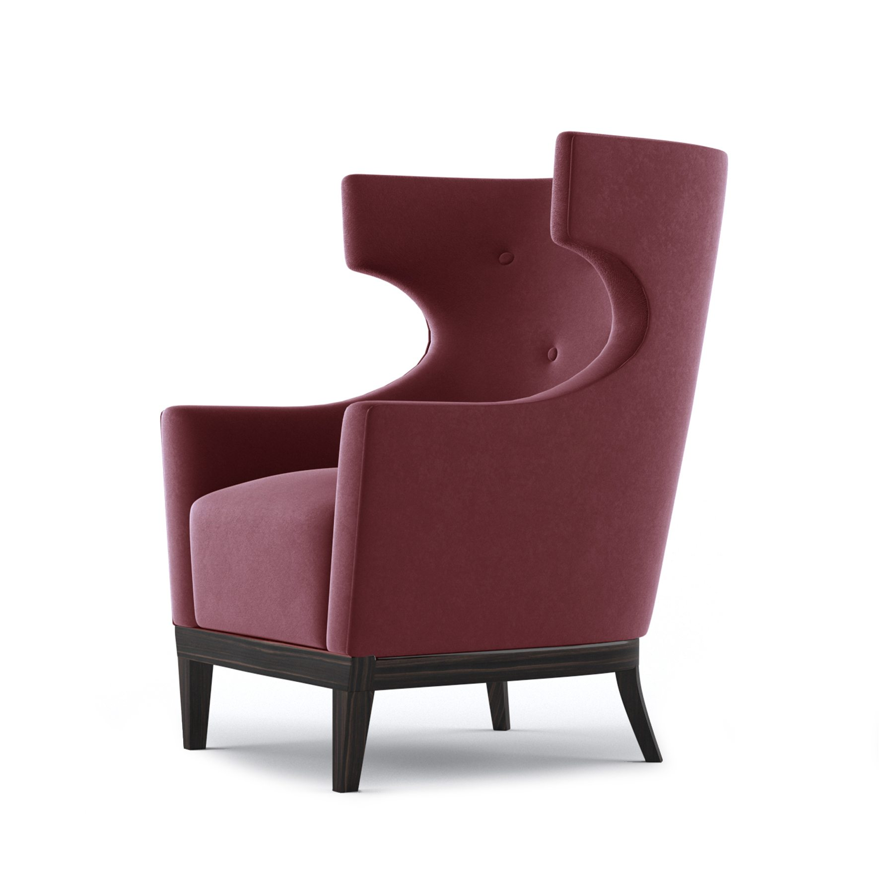 Kington Occasional Chair by Bonham & Bonham Rouge 03