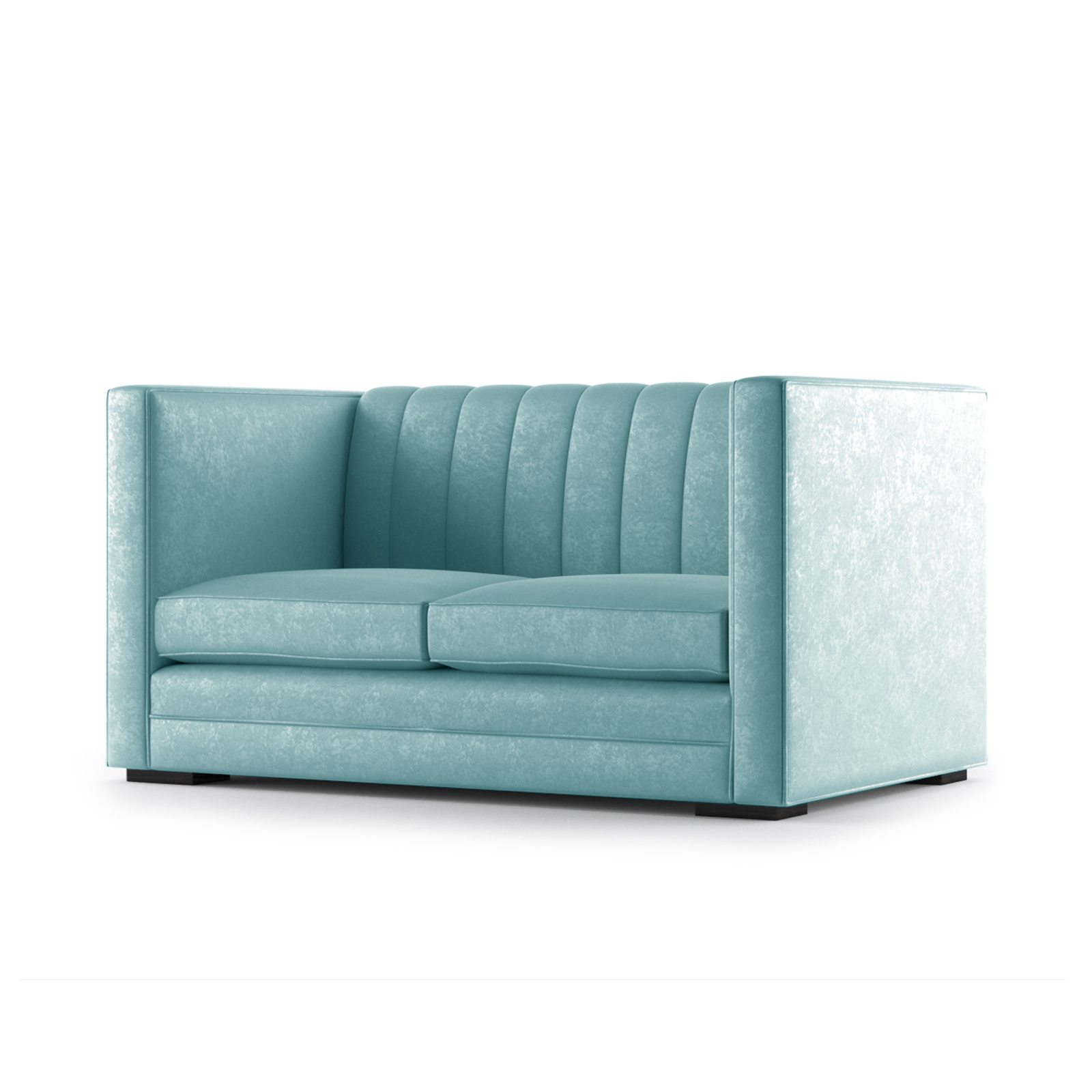 Laine Two Seater Sofa by Bonham & Bonham Duck Egg 02