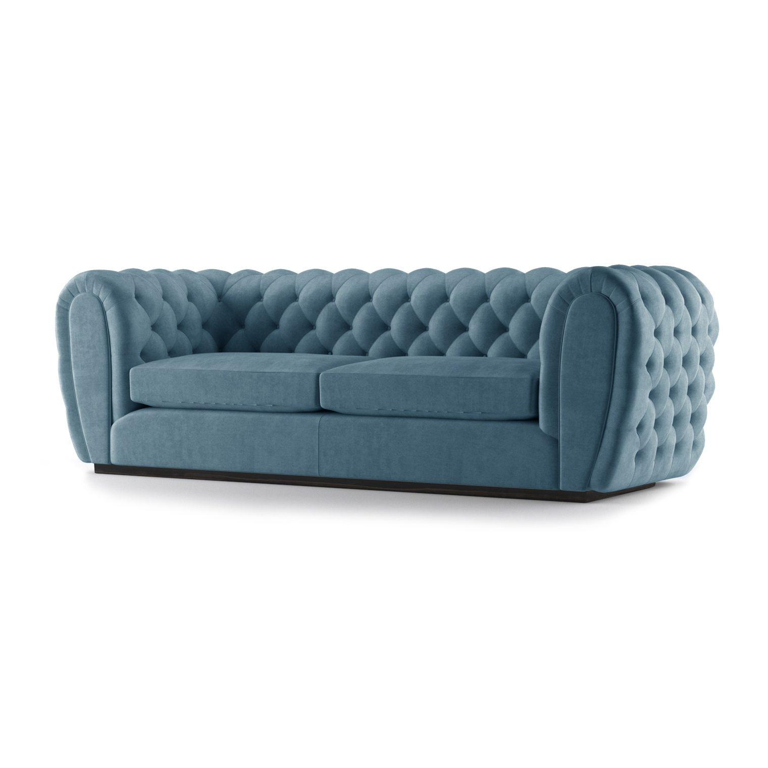 Olivier Three and a Half Seater Sofa by Bonham & Bonham Teal 02