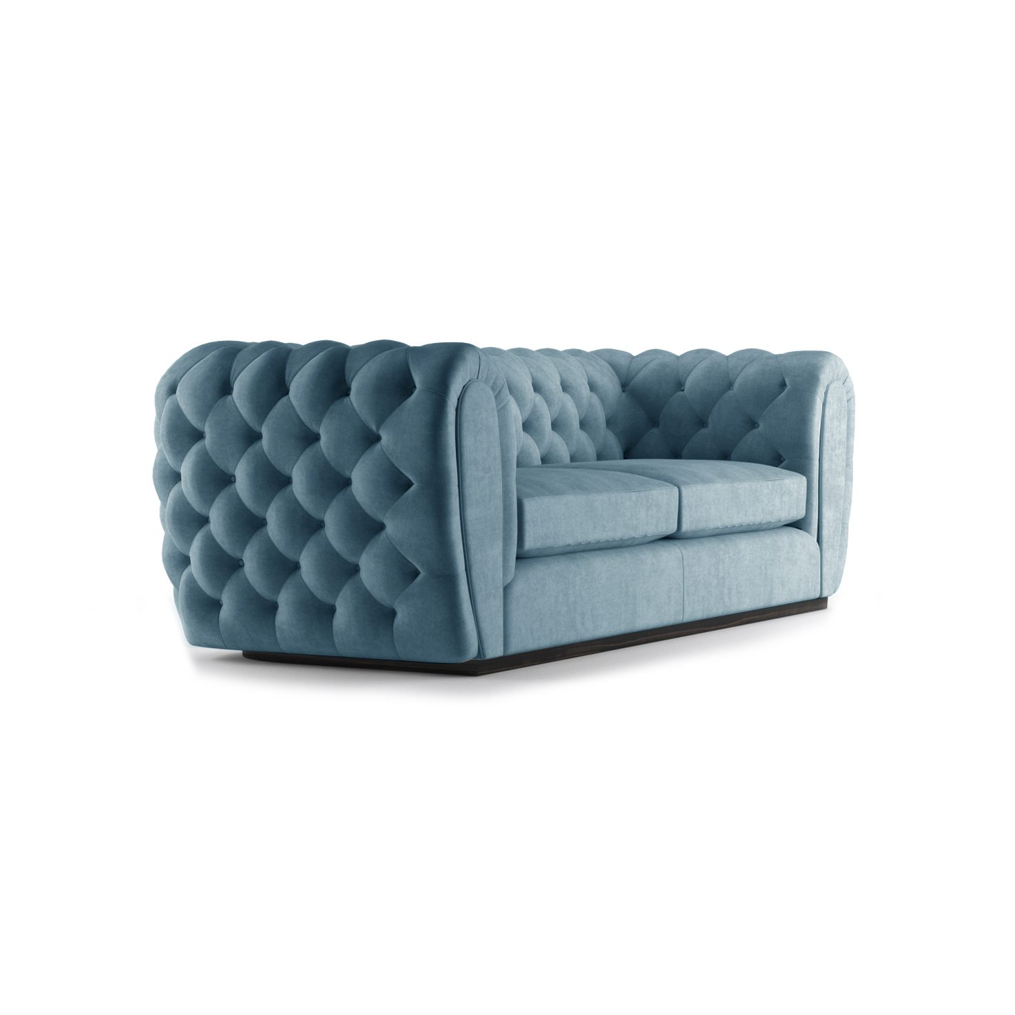 Olivier Three and a Half Seater Sofa by Bonham & Bonham Teal 11