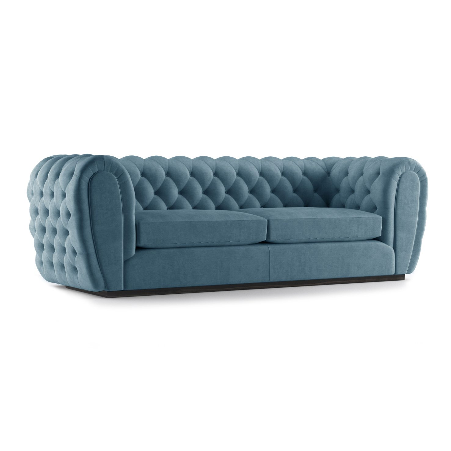 Olivier Three and a Half Seater Sofa by Bonham & Bonham Teal 12
